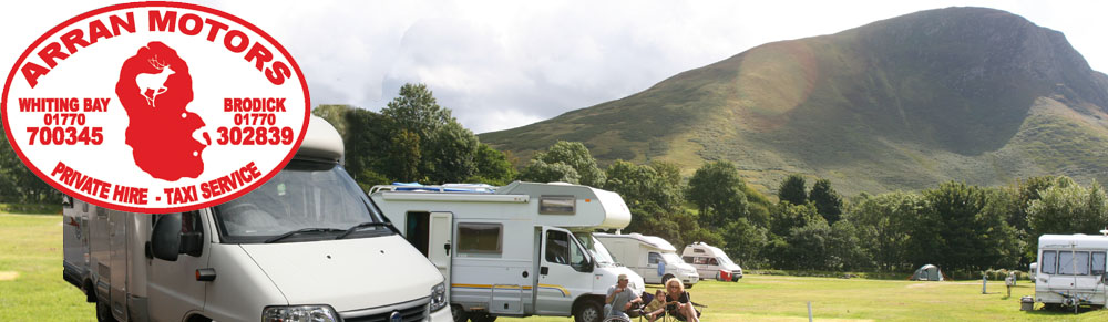 campervan and motorhome rental on the Isle of Arran